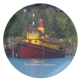 Edna G. plate