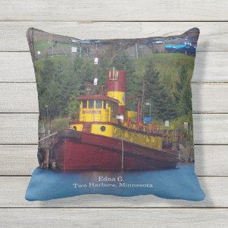 Edna G square pillow
