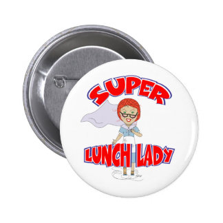 Edna The Lunch Lady Cartoons 6 Cm Round Badge