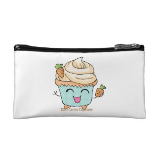 EDO Carrot Cupcake Cosmetic Bags