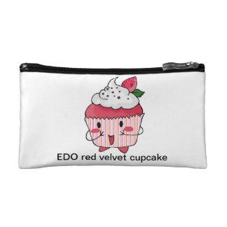 EDO red velvet cupcake Makeup Bags