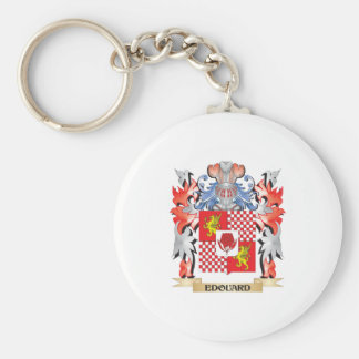 Edouard Coat of Arms - Family Crest Key Ring