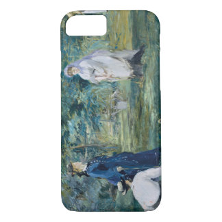 Edouard Manet - A Game of Croquet iPhone 7 Case