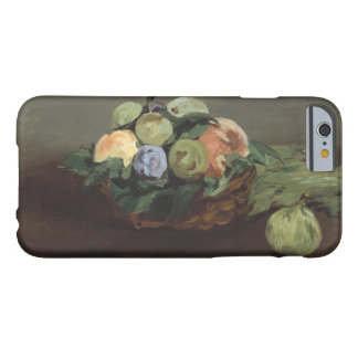 Edouard Manet - Basket of Fruit Barely There iPhone 6 Case