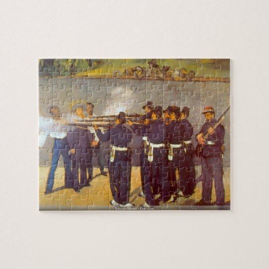 Edouard Manet - Execution puzzle