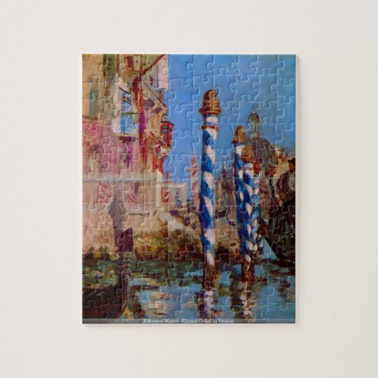 Edouard Manet - Grand Canal in Venicepuzzle Jigsaw Puzzle