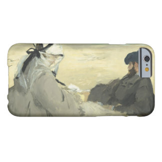 Edouard Manet - On the Beach Barely There iPhone 6 Case