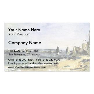 Edouard Manet- Seascape at Arcachon Business Card Templates