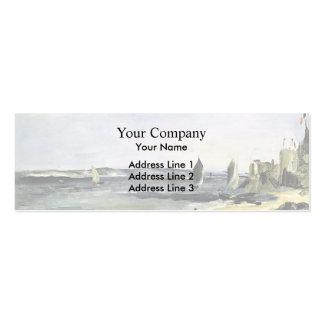 Edouard Manet- Seascape at Arcachon Business Card