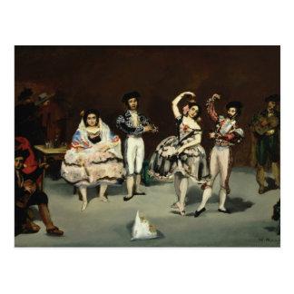 Edouard Manet - Spanish Ballet Postcard