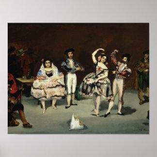Edouard Manet - Spanish Ballet Poster