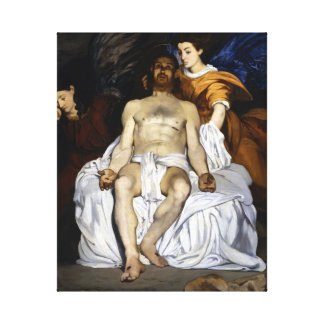 Édouard Manet The Dead Christ with Angels Canvas Print