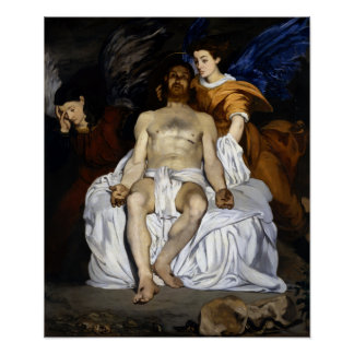 Édouard Manet The Dead Christ with Angels Poster