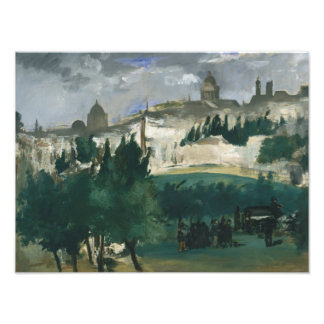 Edouard Manet - The Funeral Photo Print