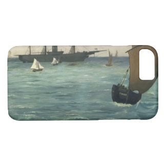 Edouard Manet - The Kearsarge at Boulogne iPhone 8/7 Case