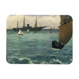 Edouard Manet - The Kearsarge at Boulogne Magnet