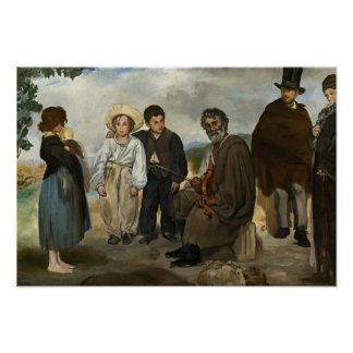 Edouard Manet - The Old Musician Poster