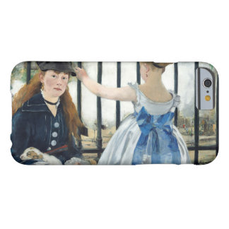Edouard Manet - The Railway Barely There iPhone 6 Case