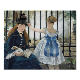 Édouard Manet: The Railway Poster
