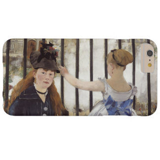 Edouard Manet The Railway Vintage Fine Art Barely There iPhone 6 Plus Case