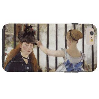 Edouard Manet The Railway Vintage Fine Art Tough iPhone 6 Plus Case
