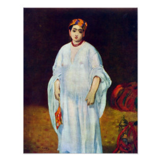 Edouard Manet - The Sultan Poster