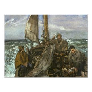 Edouard Manet - The Toilers of the Sea Photo