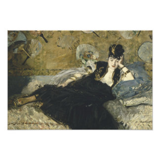 Edouard Manet - Woman with Fans Photographic Print