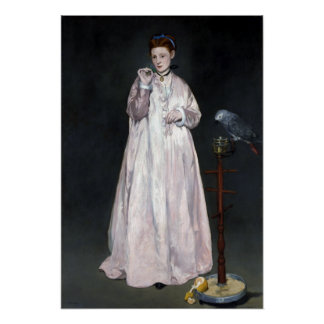 Édouard Manet Young Lady in 1866 Poster