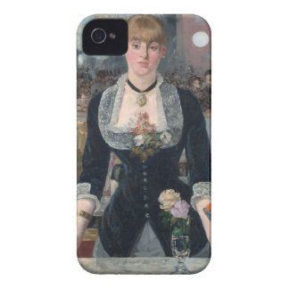 Edouard Manet's A Bar at the Folies-Bergère iPhone 4 Cases