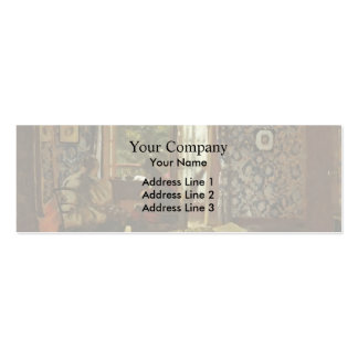 Edouard Vuillard- Interior Pack Of Skinny Business Cards