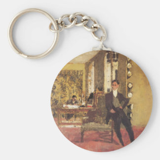 Edouard Vuillard The Art Dealers 1908 Key Ring