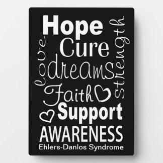 EDS Awareness Plaque