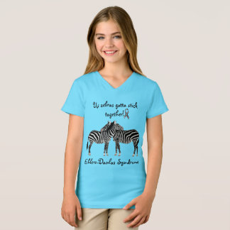 EDS Ehlers-Danlos syndrome Support Awareness Shirt