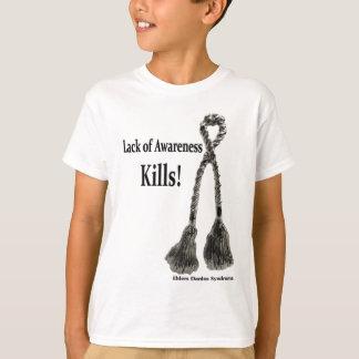 EDS Lack of Awareness Kills T-Shirt