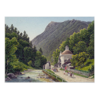 Eduard Gurk Chapel and Hermitage Poster