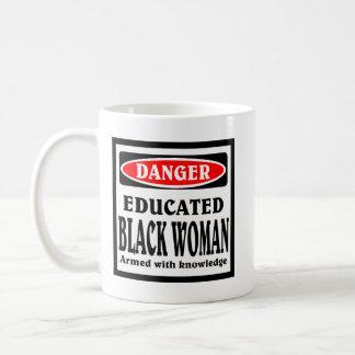 Educated Black Woman coffee mug. Coffee Mug