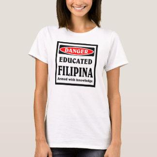Educated Filipina. T-Shirt