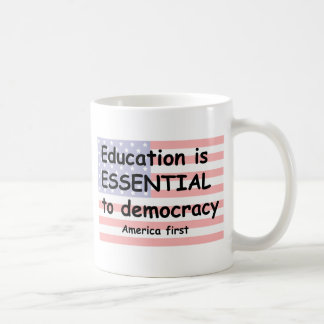 education coffee mug