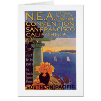 Education Convention San Francisco 1911 Card