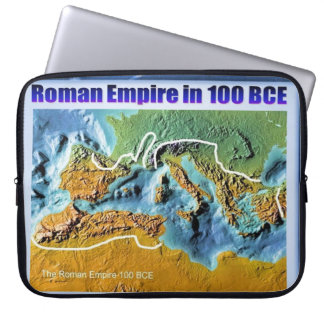 Education History Roman Empire 100BCE Computer Sleeve