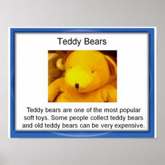 Education,  Lifeskills,  Toys, Teddy Bears Poster