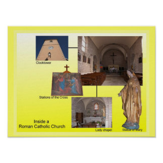 Education Relgion Roman Catholic Church Posters