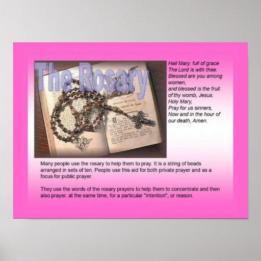 Education, Relgion, Roman Catholic, Rosary Posters