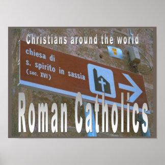 Education, Relgion,Worldwide Roman Catholic church Print