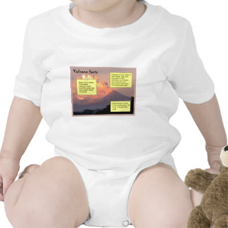 Education, Science, Geography, Volcano facts Bodysuits