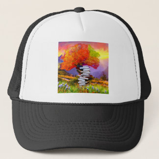 Education will always be the basis of any success. trucker hat