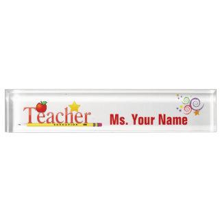 Educator Desk Name Plate