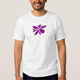 edun live t-shirt - white with purple design