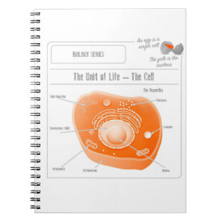 EduPaper Products Cell Spiral Bound Notebook